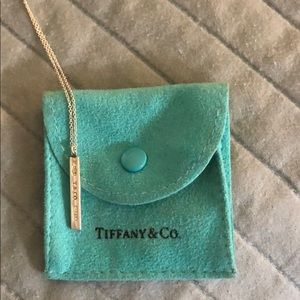 Tiffany & Co Bar necklace